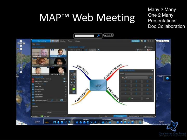 MAP™ Web Meeting