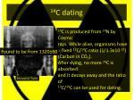 14 c dating