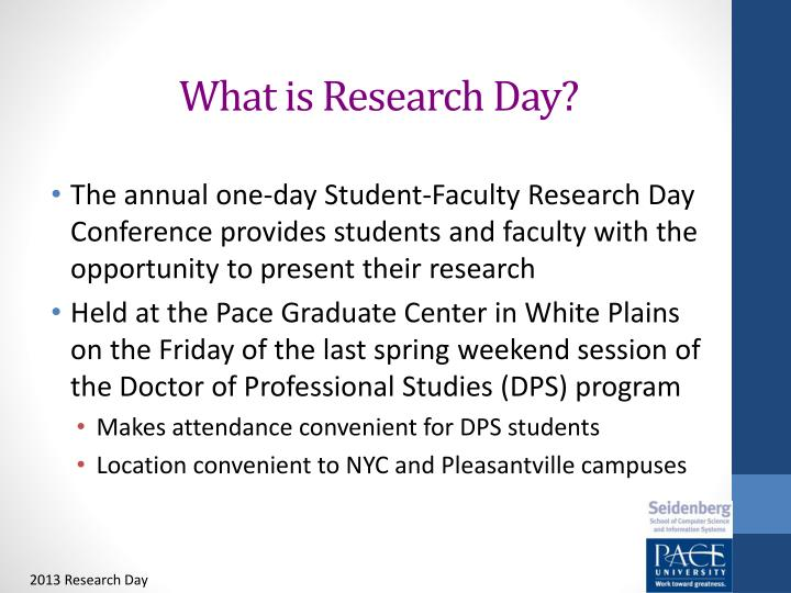 what is research day n.