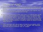 causes of fgm