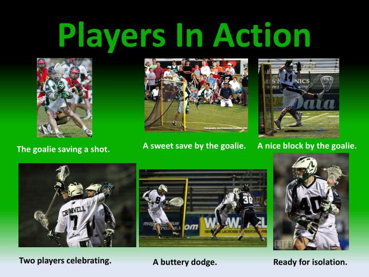 Players In Action