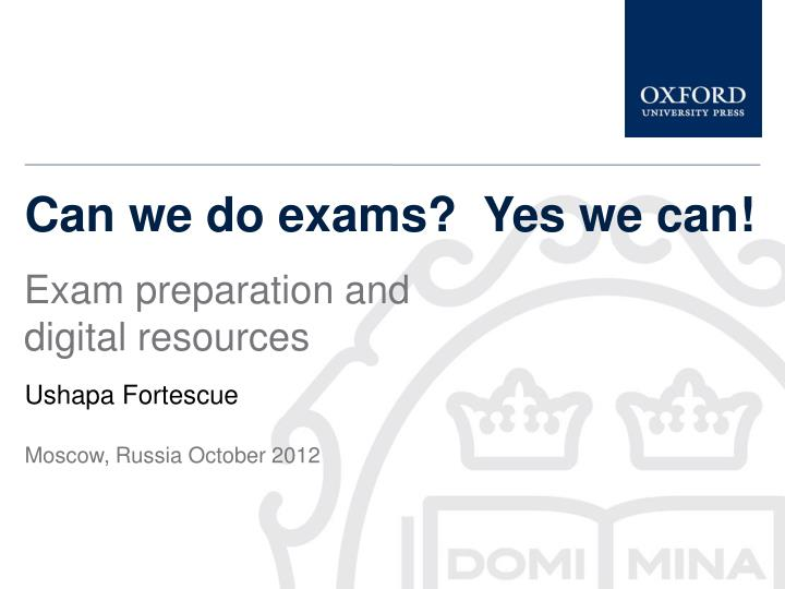 can we do exams yes we can n.