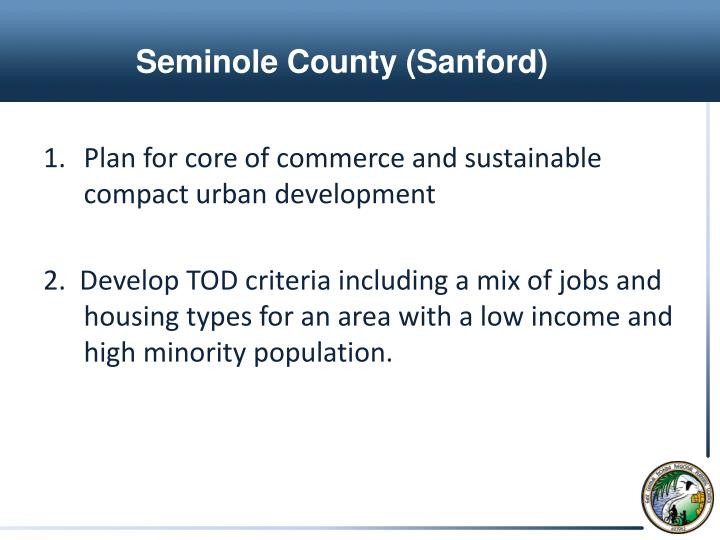 Seminole County (Sanford)