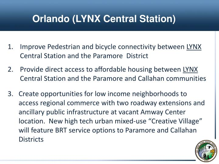 Orlando (LYNX Central Station)
