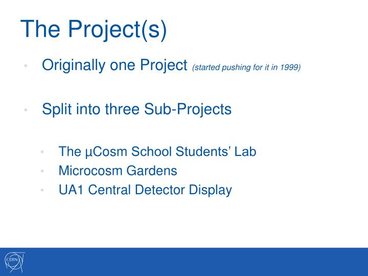 The Project(s)