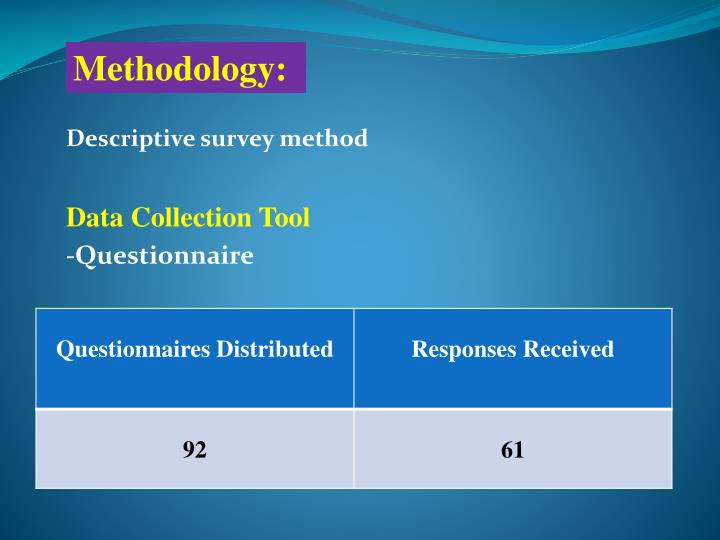 data collection method: questionnaire essay There are several data collection methods that we have discussed including interviews, discussion groups and review of articles the method used is larger determined by the research question however, each method has its advantages and disadvantages.