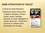 some attractions of icgc 87
