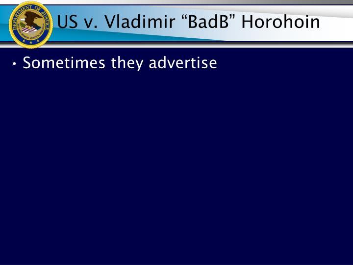 US v. Vladimir