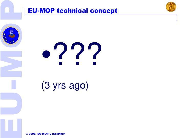 EU-MOP technical concept