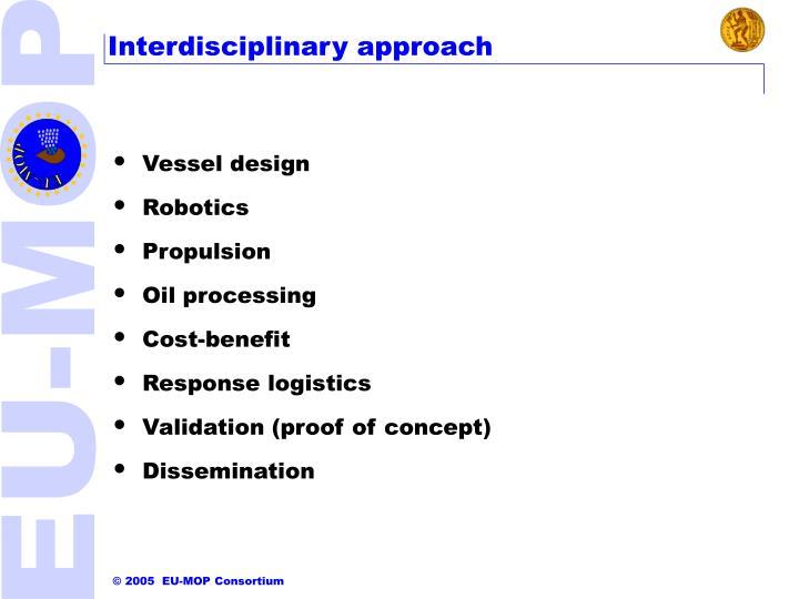 Interdisciplinary approach
