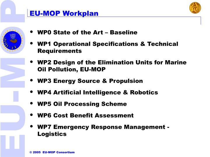 EU-MOP Workplan
