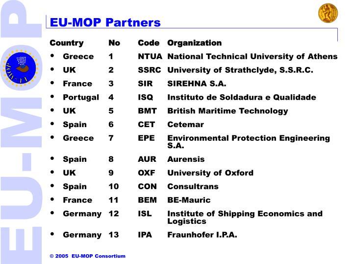 EU-MOP Partners