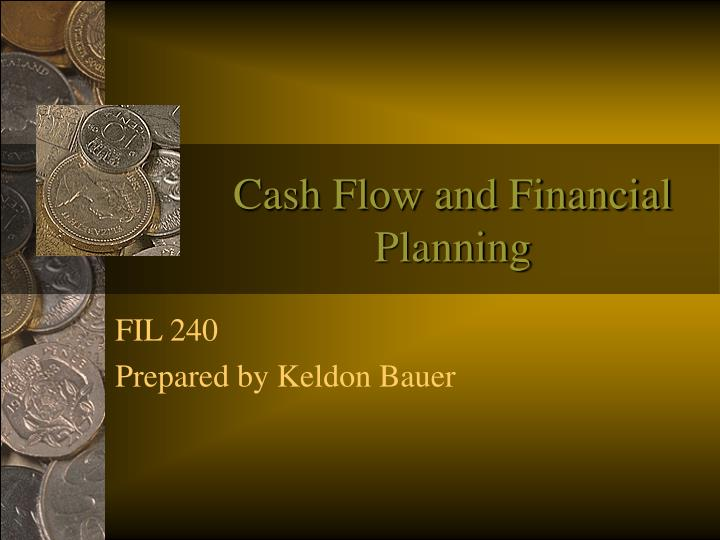 cash flow and financial planning n.