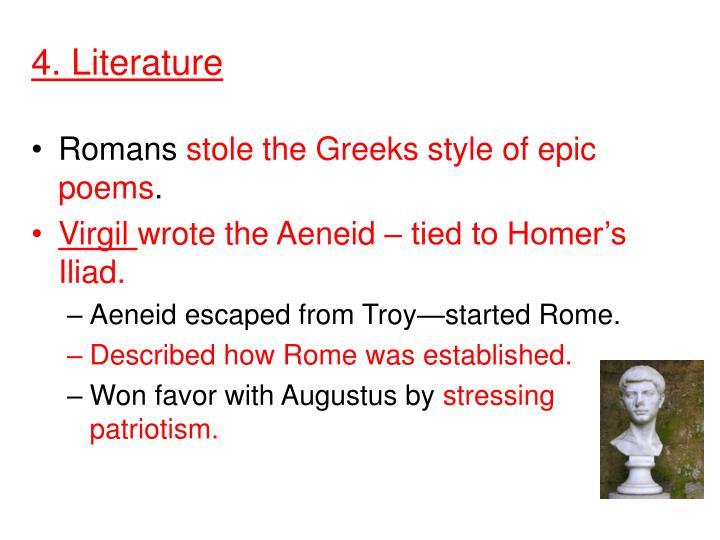 4. Literature