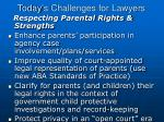 today s challenges for lawyers