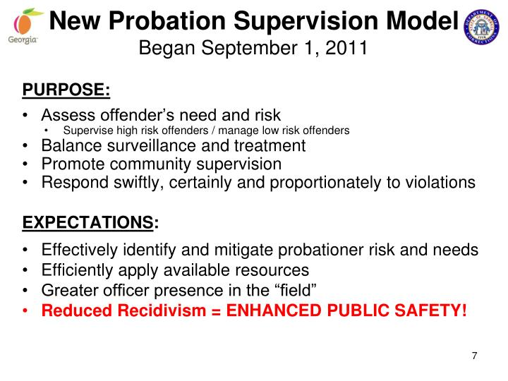 intensive probation supervision Gao evaluated arizona's intensive probation supervision program (ips), focusing on: (1) ips ability to control criminal behavior and (2) whether intensive.