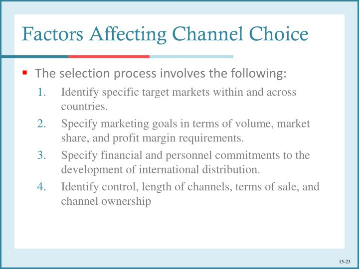 international marketing factors to be considered in This is a key element to consider when deciding what outlet of marketing to use for example, a social media ad would not be as effective in a country where social media is frowned upon or is not as popular as in the us this is an extremely vital factor of marketing internationally.