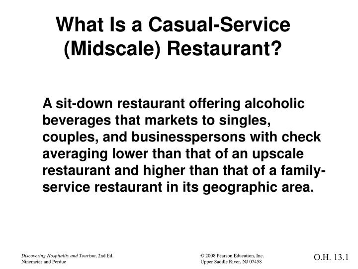 PPT - What Is a Casual-Service (Midscale) Restaurant
