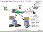 enterprise key management for hsms