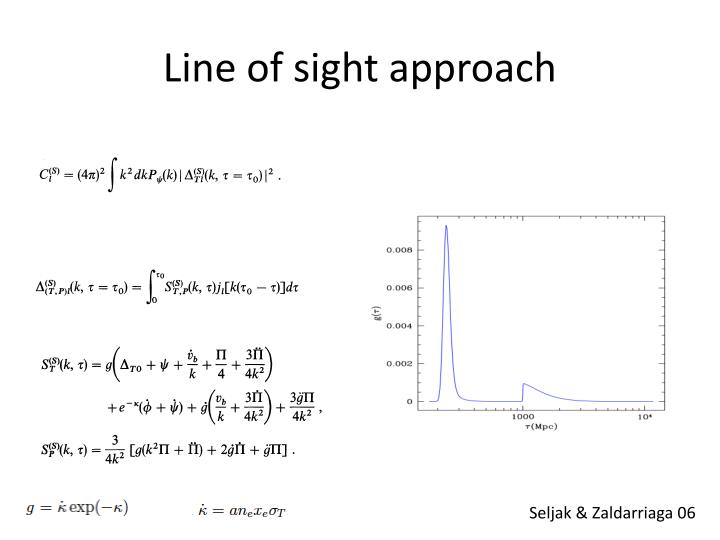 Line of sight approach
