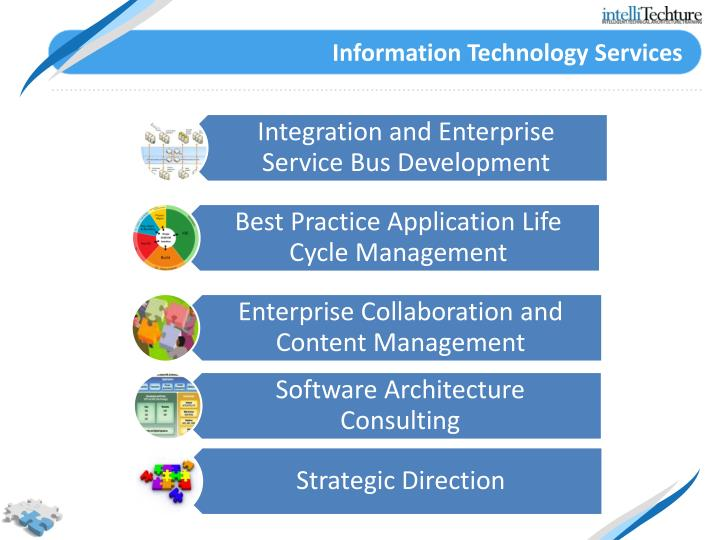 Information Technology Services : Ppt about us powerpoint presentation id