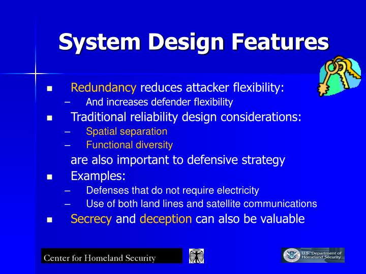 System Design Features