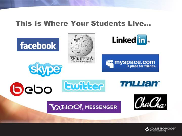 This Is Where Your Students Live…