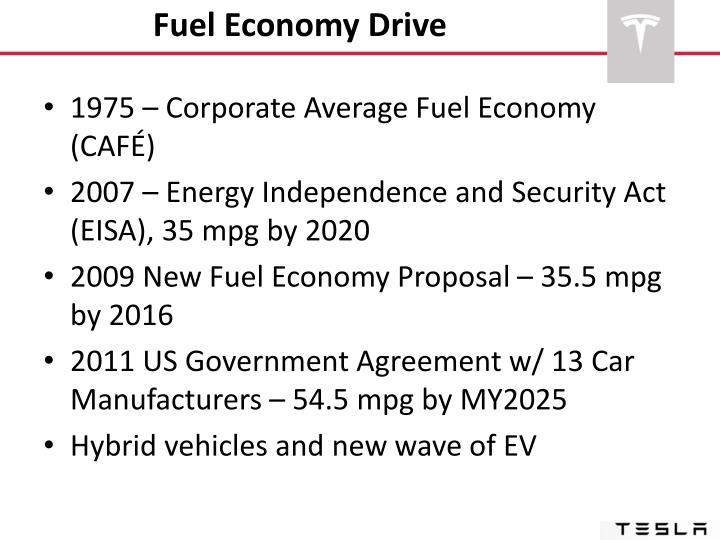 Fuel Economy Drive