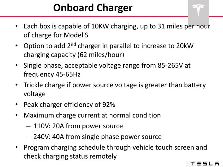 Onboard Charger