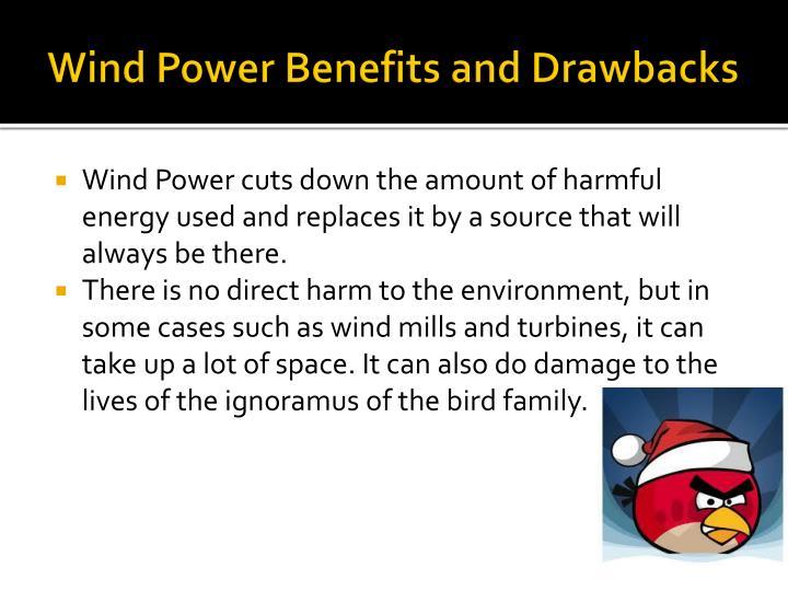 Wind Power Benefits and Drawbacks