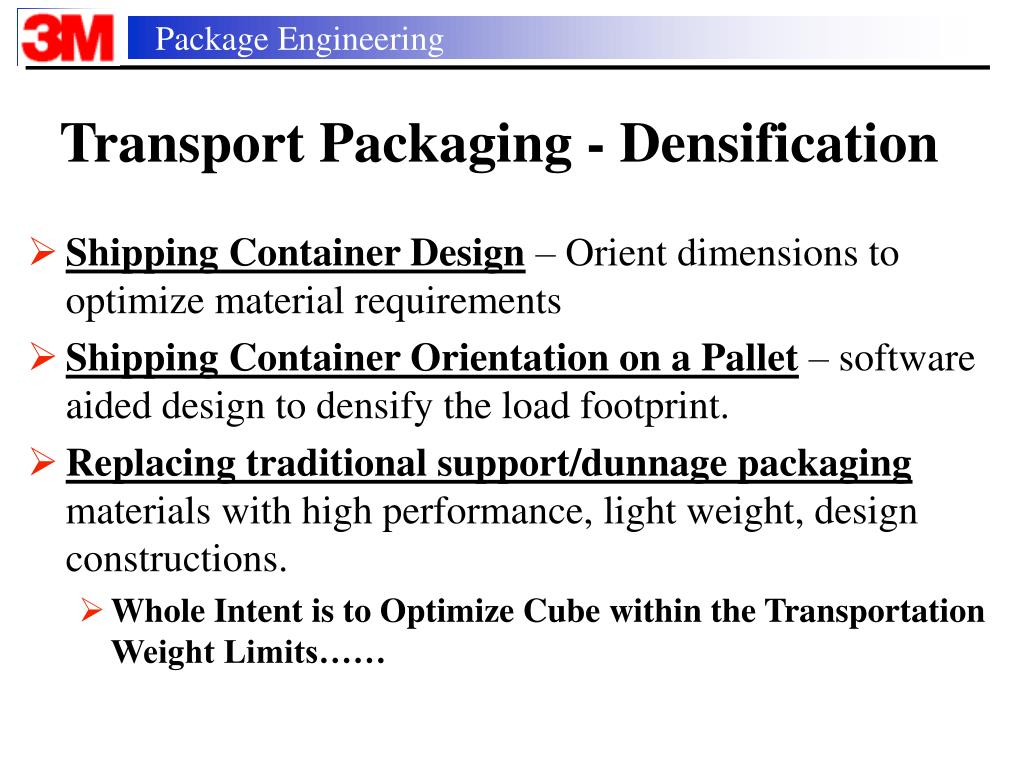 PPT - Environmental Innovations in Packaging and Freight CTS