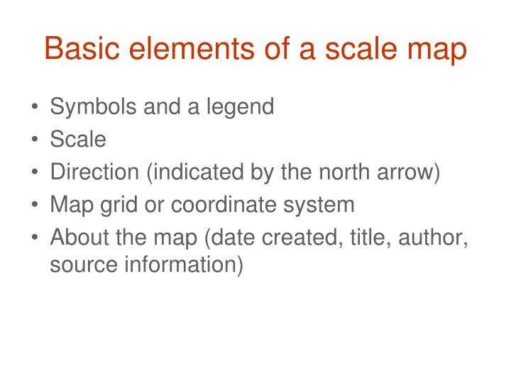 Ppt Introduction To Scale Maps And Basic Cartography Powerpoint