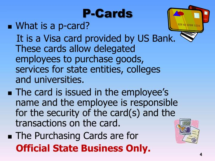 P cards