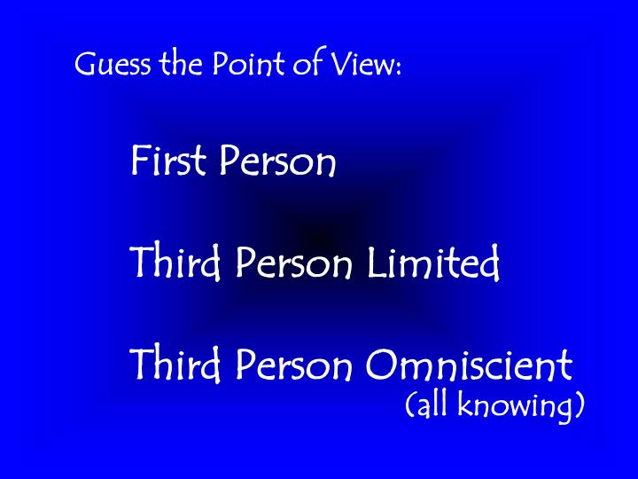 Guess the Point of View: