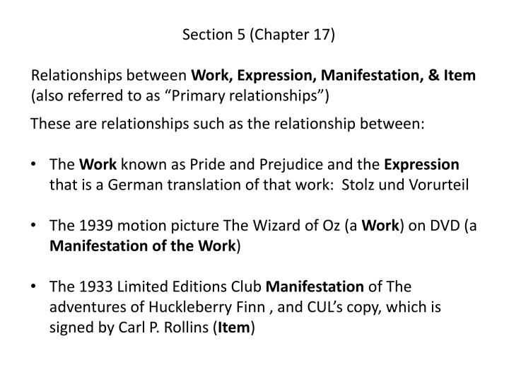Section 5 (Chapter 17)