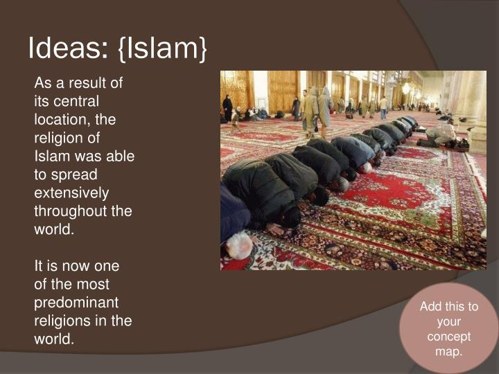 Ideas: {Islam}