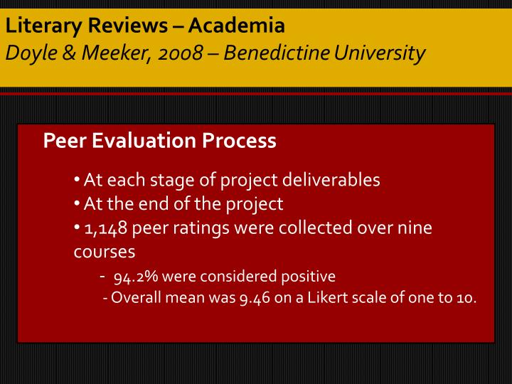 Literary Reviews – Academia