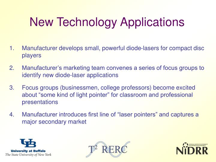 new technology applications n.