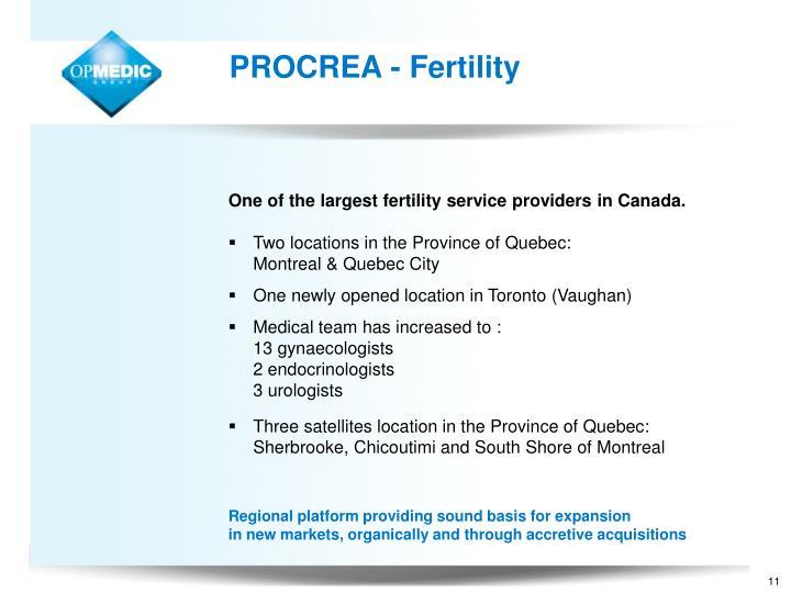 PROCREA - Fertility