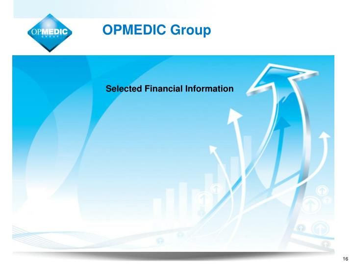 Selected Financial Information
