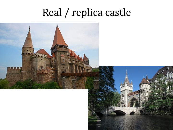 Real / replica castle