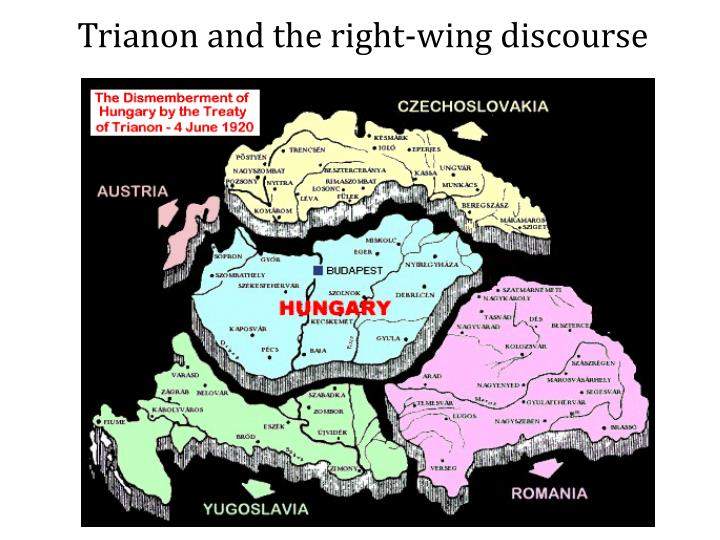Trianon and the right-wing discourse