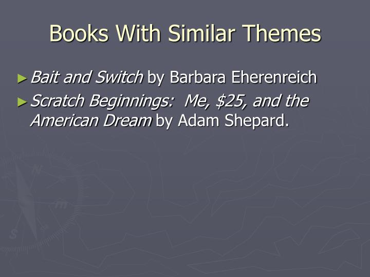 Books With Similar Themes