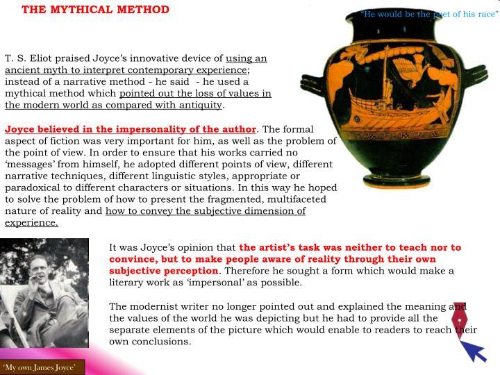 THE MYTHICAL METHOD