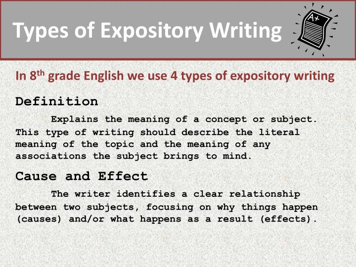expository writing meaning