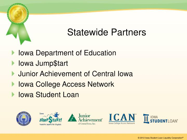 Statewide partners