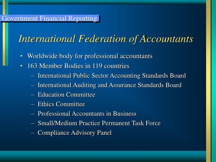 International federation of accountants