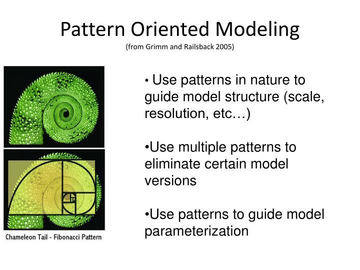 Pattern Oriented