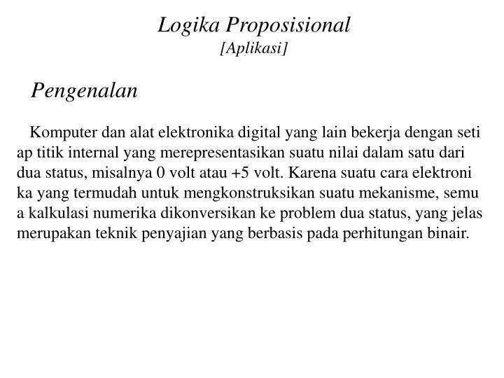 Logika Proposisional