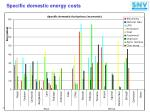 specific domestic energy costs